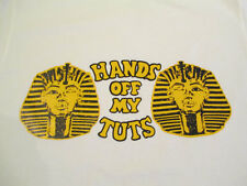 Original Vtg 1970s HANDS OFF MY TUTS New T Shirt S M L XL Boobs Humor King Tits