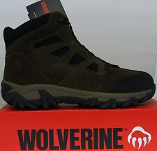 Wolverine Cullen Mid W02385 Steel Toe Brown Boot Size 14 Brand New in Box