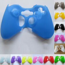 Rubber Skin Silicone Gel Protective Cover For Microsoft Xbox 360 Controller case