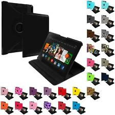 360 Rotating Design Folio Case Cover Pouch for Amazon Kindle Fire HDX 8.9 2013