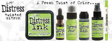 Tim Holtz Distress TWISTED CITRON Color Of The Month Set 2015 MAY Ranger