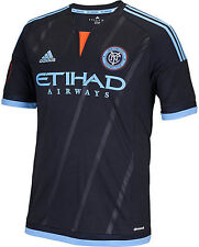 Adidas New York City FC Away Soccer Jersey (Black) NYCFC S88388