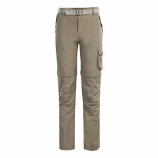 Women Lady Casual Cargo Shorts Mesh Fast Dry Pants Fishing Golf Travel Trousers