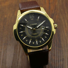 CURREN Analog Stainless Steel Case Quartz Date Sport Wrist Watch Men's 365 US