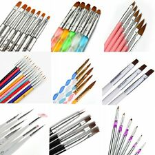 Pro Nail Art Pen Brush UV Gel Acrylic Painting Drawing Tips Liner Polish Brushes