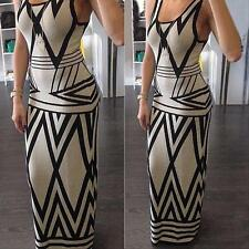 Sexy Women Lady Bodycon Casual Party Maxi Dress Cocktail Long Summer Beach Dress