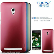 Pudini Dark Color  Hard Back Case Cover for Asus Zenfone 6 + Free HD ScreenGuard