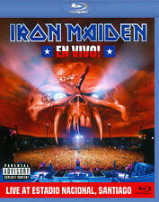 Iron Maiden: En Vivo! -Live at Estadio Nacional Santiago (Blu-Ray) New Free Ship