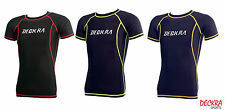 Deckra Mens Compression Shirt Armour Base Layer Half Sleeves Thermal Skin Tight