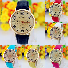 Men's Watches Casual Luxury Leather Band Quartz Women's Wrist Watches Relogio