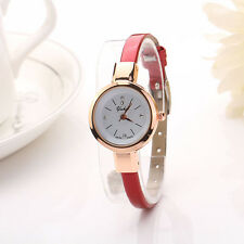 Elegant Lady Fashion Round Quartz Analog Bracelet Wristwatch Women Watch Gift