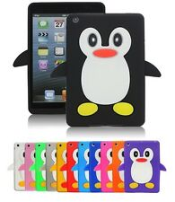 NUOVO GOMMA SILICONE PINGUINO LINEA SMART CUSTODIA COVER PER IPAD 2 3 & 4