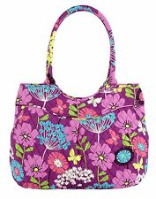 Vera Bradley Pleated Shoulder Bag Satchel