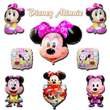 Disney Minnie Mouse Helium Foil Balloons Decoration​ Kids Girls Party Supplies
