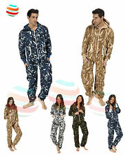 Mens Ladies kids unisex Onesie pyjamas aztec camouflage Printed a lot Sleepwear