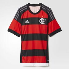 NEW Flamengo Home Soccer Football Maglia Jersey - 2015  Adidas Brazil