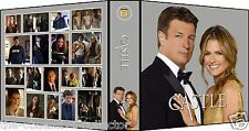 CASTLE Season 6 Custom Photo Album 3-Ring Binder NATHAN FILLION & STANA KATIC