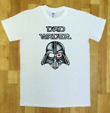 Mens Funny Fathers Day T-Shirt Best Father Darth Dad Wader Star Wars TSM3