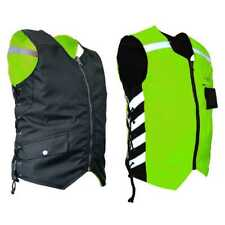 Missing Link Mens Military Duty Reversible Safety Vest - Green MDVG