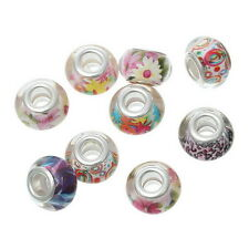 Wholesale Free Shipping European Charm Spacer Beads Mixed Fit Bracelet Chic