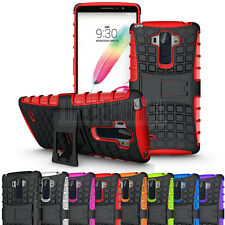 Rugged Armor Hybrid Case Stand Hard Shockproof Cover Skin For LG G Stylo LS770