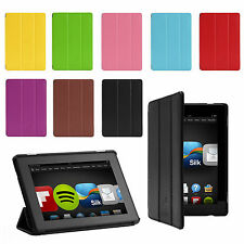 """ULTRA SLIM LEATHER CASE COVER FOR AMAZON KINDLE FIRE HD 7"""" 2 (2nd Gen.2013)"""