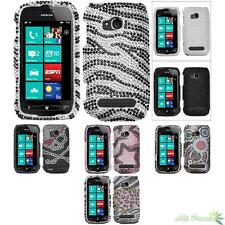 Bling Phone Protect Case Cover For NOKIA 710(LUMIA) Diamond Rhinestones
