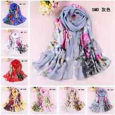 New!! Fashion Stylish Women Long Soft Silk Chiffon Scarf Wrap Shawl Scarves