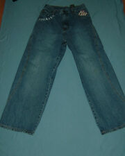 BOYS ROCAWEAR JEANS--Sz.14 & FUBU THE COLLECTION CAMO PANTS--Sz. 18--Exc.Cond.