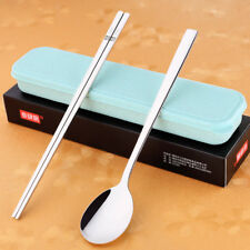 Korean Chopstick&Spoon 304 Stainless Steel Chopsticks High Quality Spoon