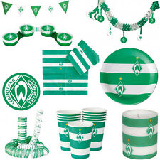 SV Werder Bremen Party Birthday Children's birthday Decoration Football Decor