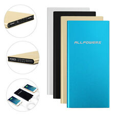 Ultrathin 20000mAh Portable External Battery Charger Power Bank for Cell Phones
