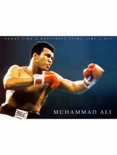 "MUHAMMAD ALI POSTER ""FLOAT LIKE A BUTTERFLY, STING ... BEE"" LICENSED ""BRAND NEW"""