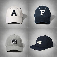 Abercrombie & Fitch Mens Classic Logo Baseball Cap Authentic Hat NWT