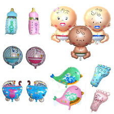 Baby Boy Girl Shower Foil Christening Balloons Decoration​ Kids Party Supply New