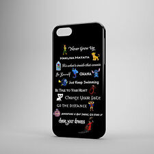 DISNEY LESSONS QUOTES PETER PAN STITCH CASE COVER FOR IPHONE SAMSUNG & HTC