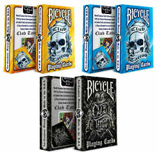 CARTE DA GIOCO BICYCLE CLUB TATTOO,poker size