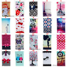 Various Pattern Bag Wallet Pouch Leather Case Cover Card Slot 3 For Sony Xperia