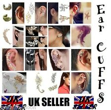 Ear Cuff Body Piercing Jewellery Ear Chains Earrings Pierced Clip On Tragus Bars