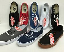 VANS AUTHENTIC CLASSIC CANVAS UNISEX SHOES *NEW IN THE BOX*