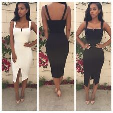Women Summer Bandage Bodycon Evening Sexy Party Cocktail Pencil Dress