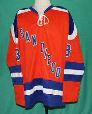 CUSTOM NAME/# SAN DIEGO MARINERS WHA HOCKEY JERSEY  SEWN NEW ANY SIZE XS - 5XL