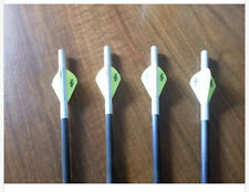 """4 Gold Tip Nitro Crossbow Bolts Arrows18,20,22"""" Flat,HM Nock  Replaces Laser IV"""