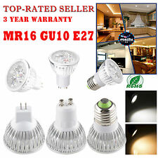Ultra Bright MR16 E27 GU10 E14 GU5.3 CREE LED Spot Lights Lamp Bulb 9W 12W 15W