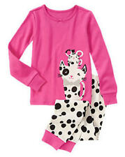 NWT GYMBOREE Spotted Pals 2 Pc PAW PINK GIRLS PJ'S PAJAMAS 3 4 5 7 FREE SHIP