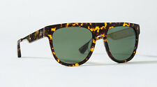 STUSSY Eyegear Gil Sunglasses w Premium Mineral Glass Lenses + Protective Sleeve