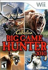 Cabela's Big Game Hunter 2010  (Nintendo Wii, 2009)