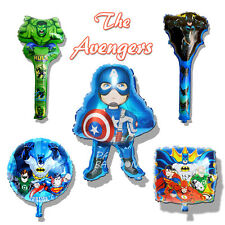 Avengers Superheroes Hero Foil Balloons Decoration Kids Boys Party Supply Gift