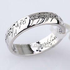 Fashion 5mm Band Lord of the Ring 18KGP Size 8-11.5