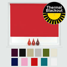 THERMAL BLACKOUT ROLLER BLINDS - UP TO 240CM WIDTH AVAILABLE